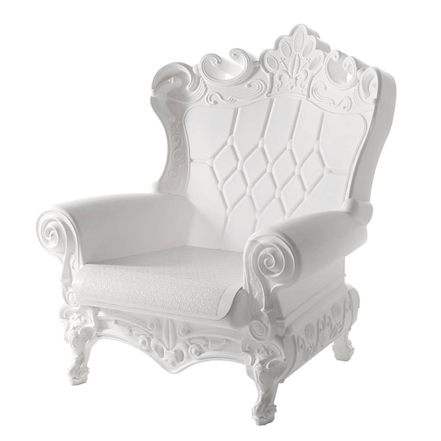 QUEEN OF LOVE Sessel milchweiß