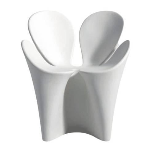 Clover Armlehnstuhl weiß (B5)
