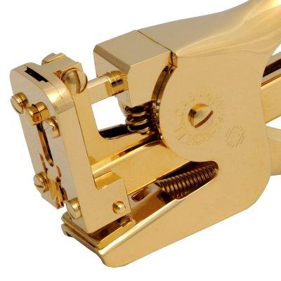 El Casco Heftzange M85CT, 23 Karat vergoldet