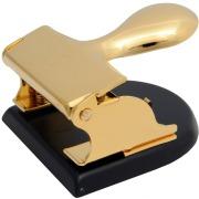 El Casco Locher M200 LN, Schwarz & 23 Karat vergoldet
