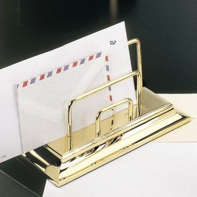 EL CASCO Briefständer M672, 23 Karat vergoldet