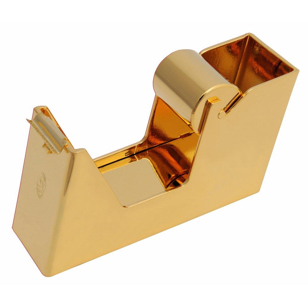El Casco Klebebandabroller, 23 Karat vergoldet