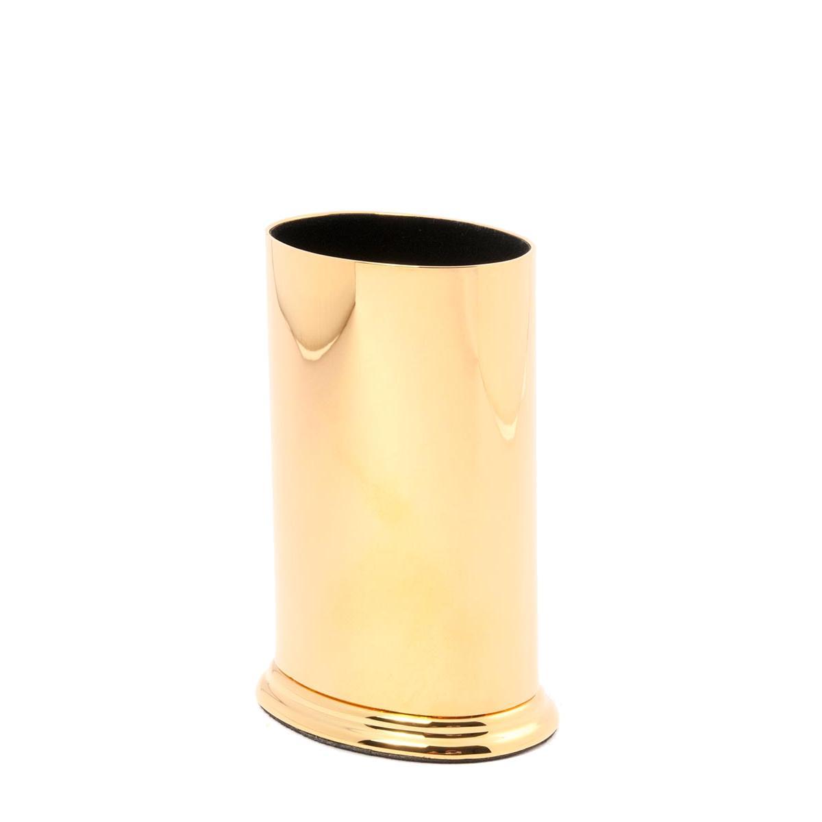 El Casco Brillenständer M652 CT, oval, 23 Karat vergoldet