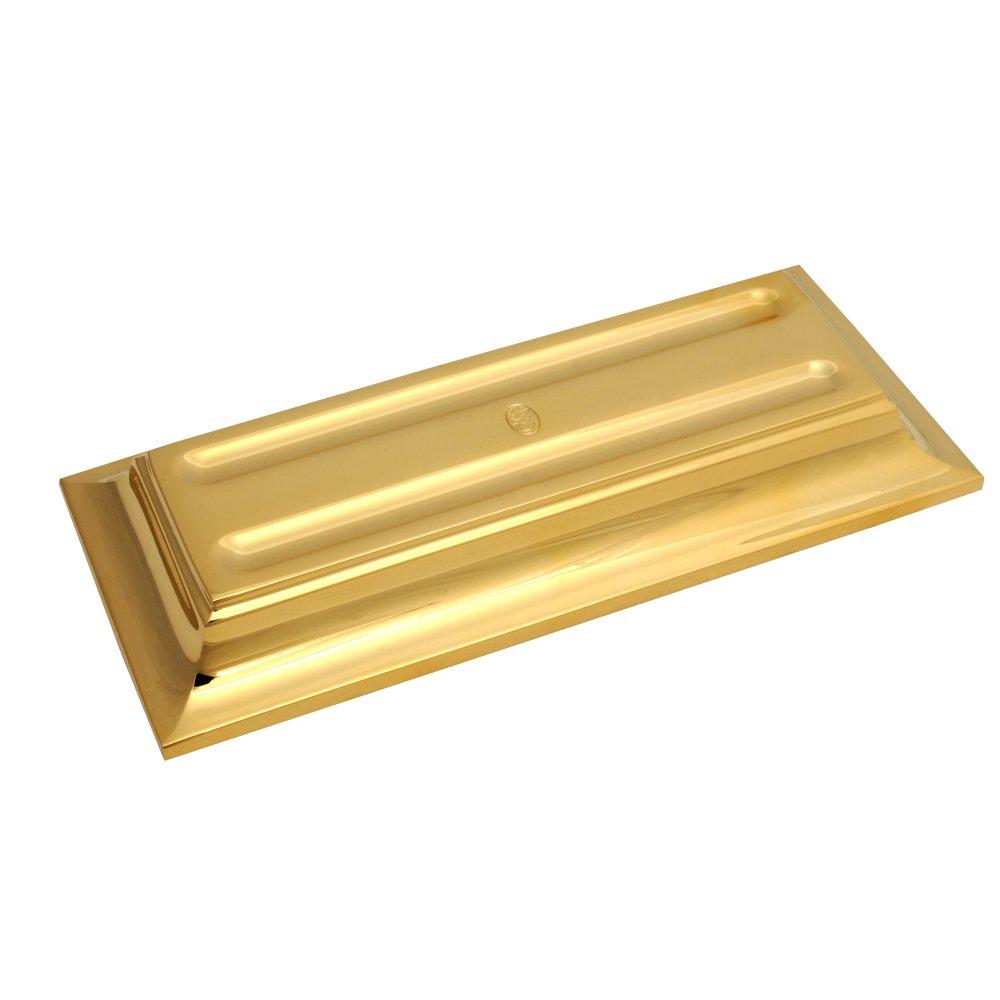 El Casco Schreibgeräteschale M655 L, 23 Karat vergoldet