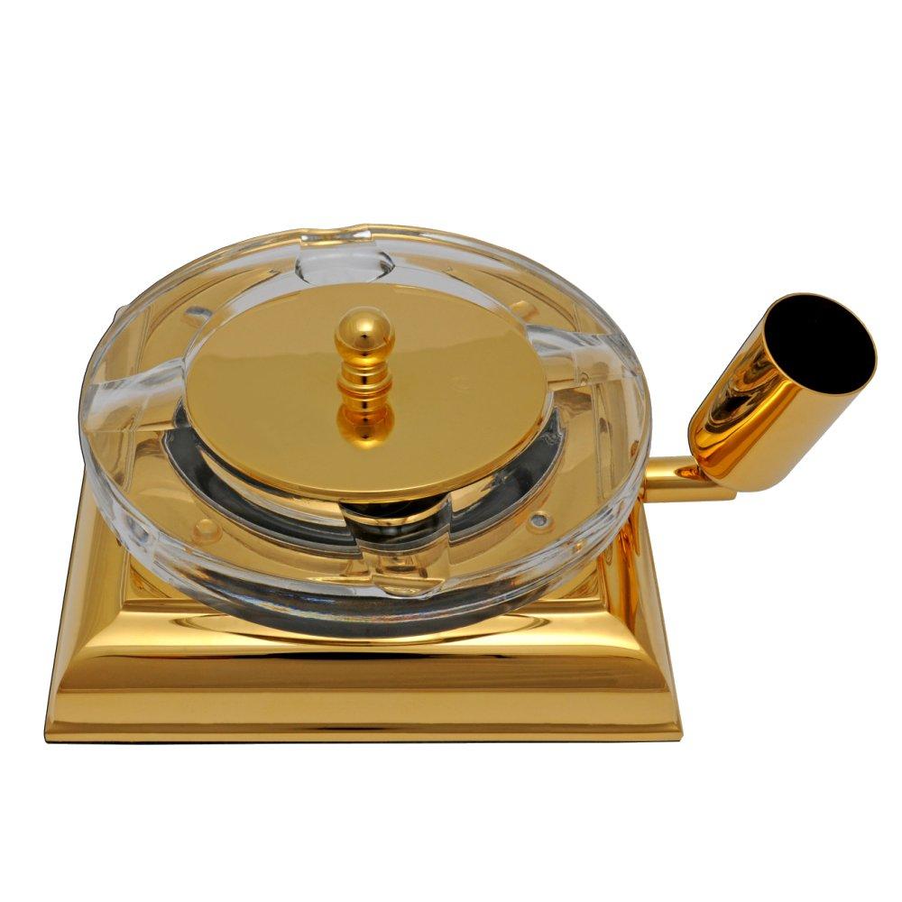 EL CASCO Aschenbecher M760L, 23 Karat vergoldet