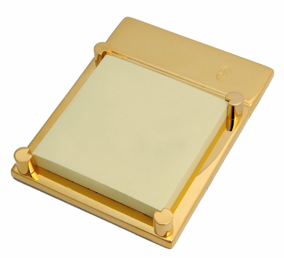 El Casco Haftnotiz-Halter M671 L, 23 Karat vergoldet