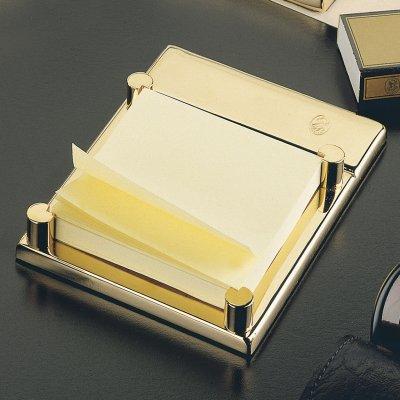 El Casco Haftnotiz-Halter M671L, 23 Karat vergoldet