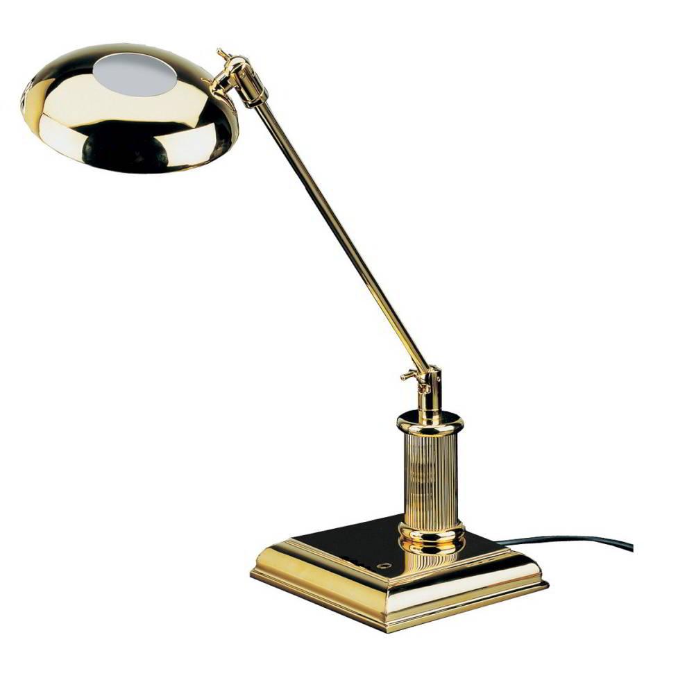 El Casco Halogen-Lampe M666L, 23 Karat vergoldet