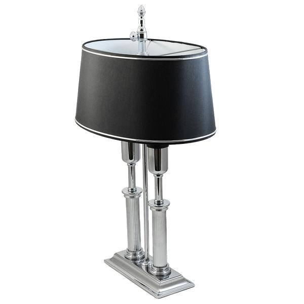 El Casco Schreibtischlampe M665CT, edelchrom