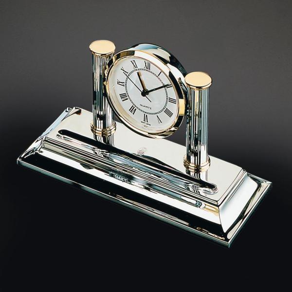 El Casco Uhr mit Stiftablage M662CT, edelchrom