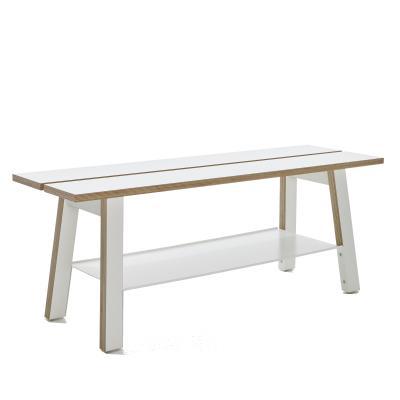 corobench sitzbank mit ablage von emform von. Black Bedroom Furniture Sets. Home Design Ideas