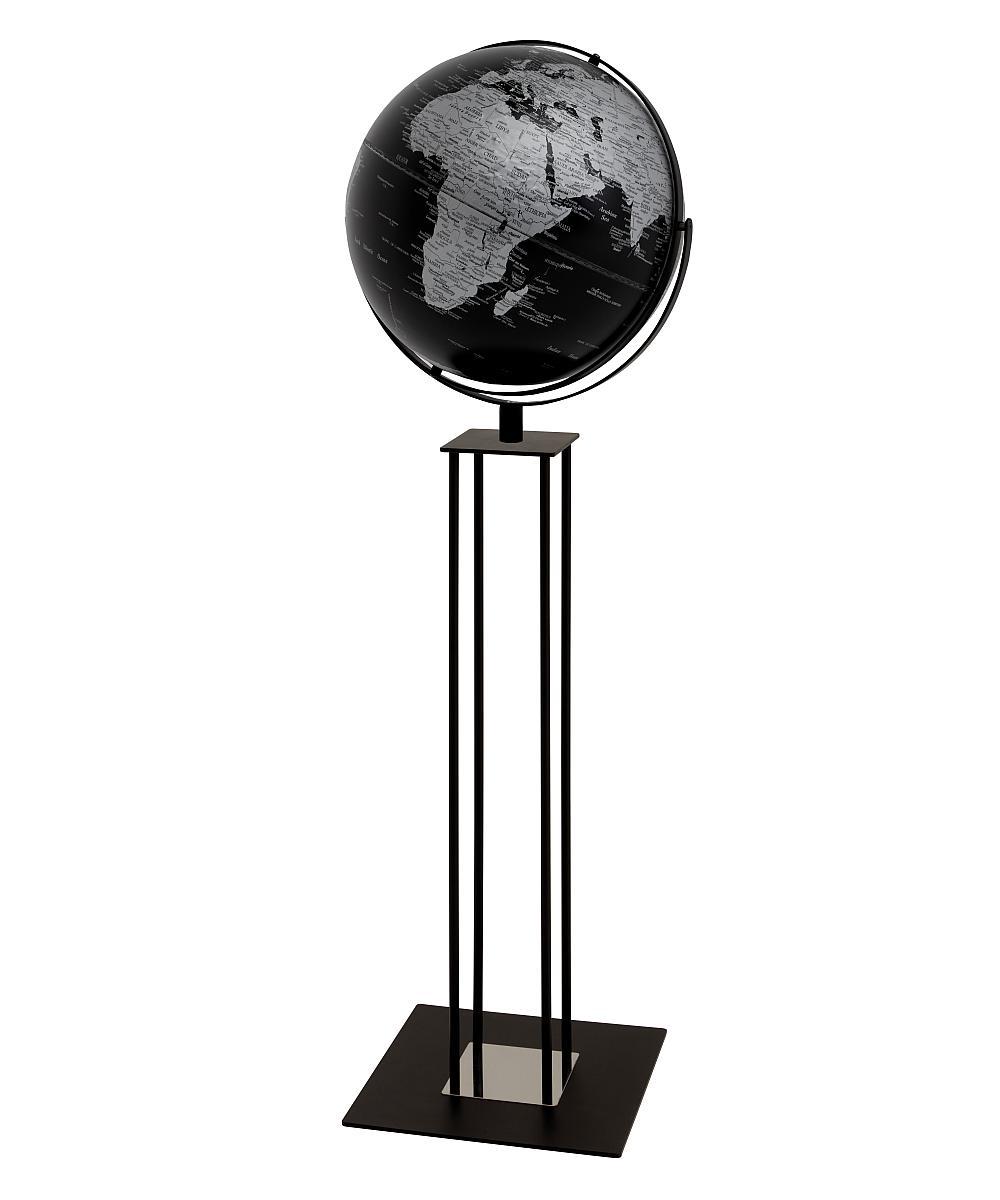 WORLDTROPHY Standglobus matt schwarz
