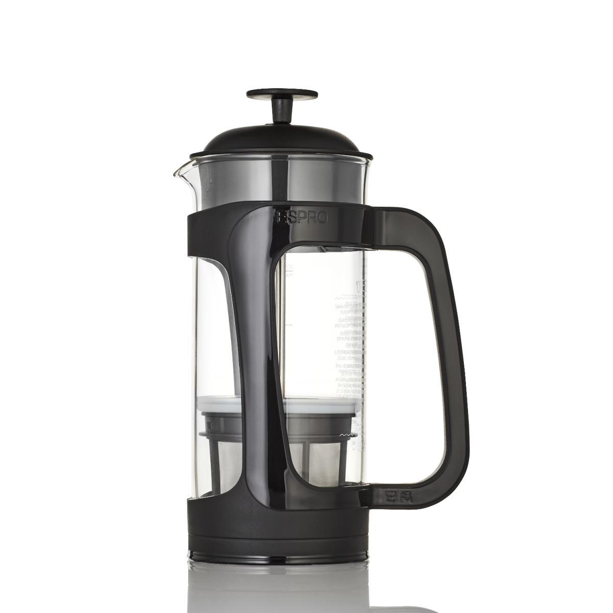 P3 ESPRO Press für Kaffee 550ml schwarz