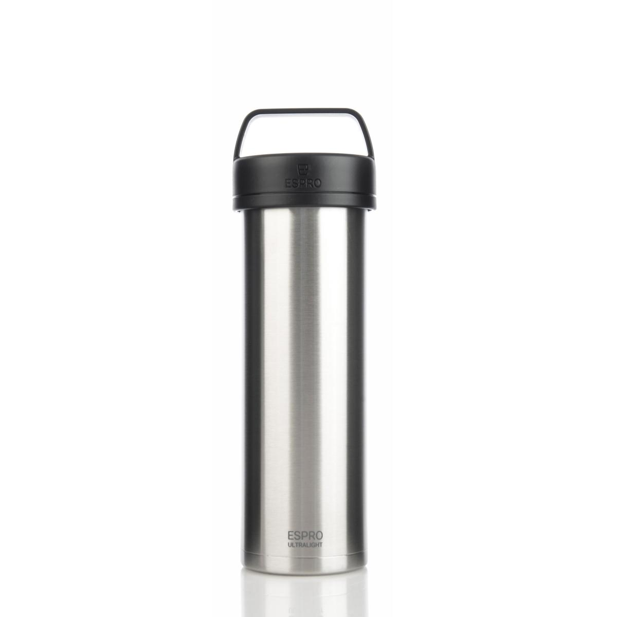 ESPRO Ultralight Kaffeezubereiter / Isolierflasche 475ml Edelstahl gebürstet