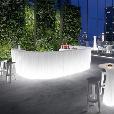 FROZEN LIGHT Bar / Theke beleuchtet
