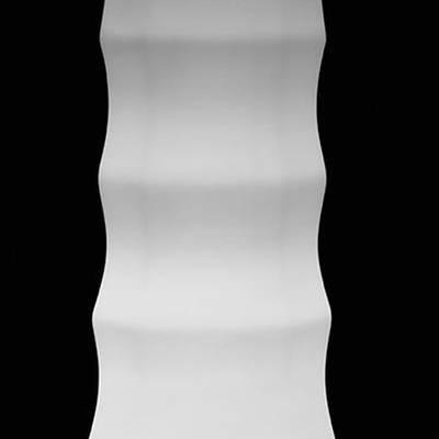 ROO Pflanzvase beleuchtet, Detail Wellen
