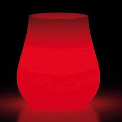 DROP Pflanzkübel beleuchtet mit LED von plust