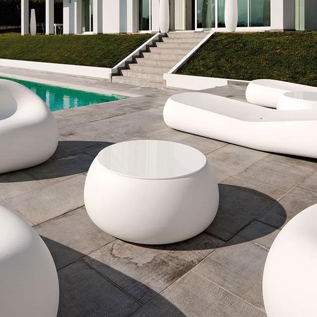 T-BALL Gartentisch weiß (C2)