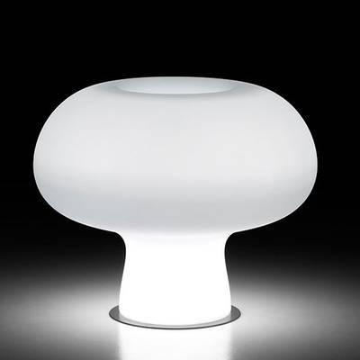 BOYO LIGHT Indoor beleuchtetes Pflanzgefäß weiß