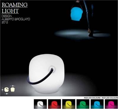 Roaming Bodenleuchte, tragbar, LED-Akku-Beleuchtung