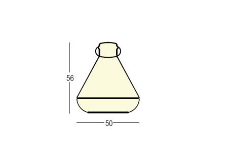 Spot Light Leuchte weiß-transluzent
