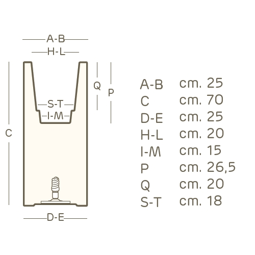 Maße KUBE HIGH SLIM Pflanzsäule