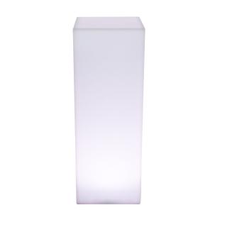 KUBE HIGH SLIM Leuchtsäule mit ESL Beleuchtung