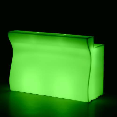 gerades Element mit LED-Beleuchtung