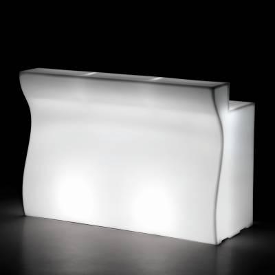 gerades Element mit 3 Beleuchtungseinheiten