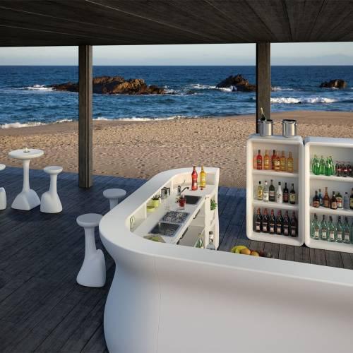 BARTOLOMEO DISPLAY und Barlemente als Strandbar