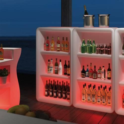 BARTOLOMEO DISPLAY mit LED Beleuchtung