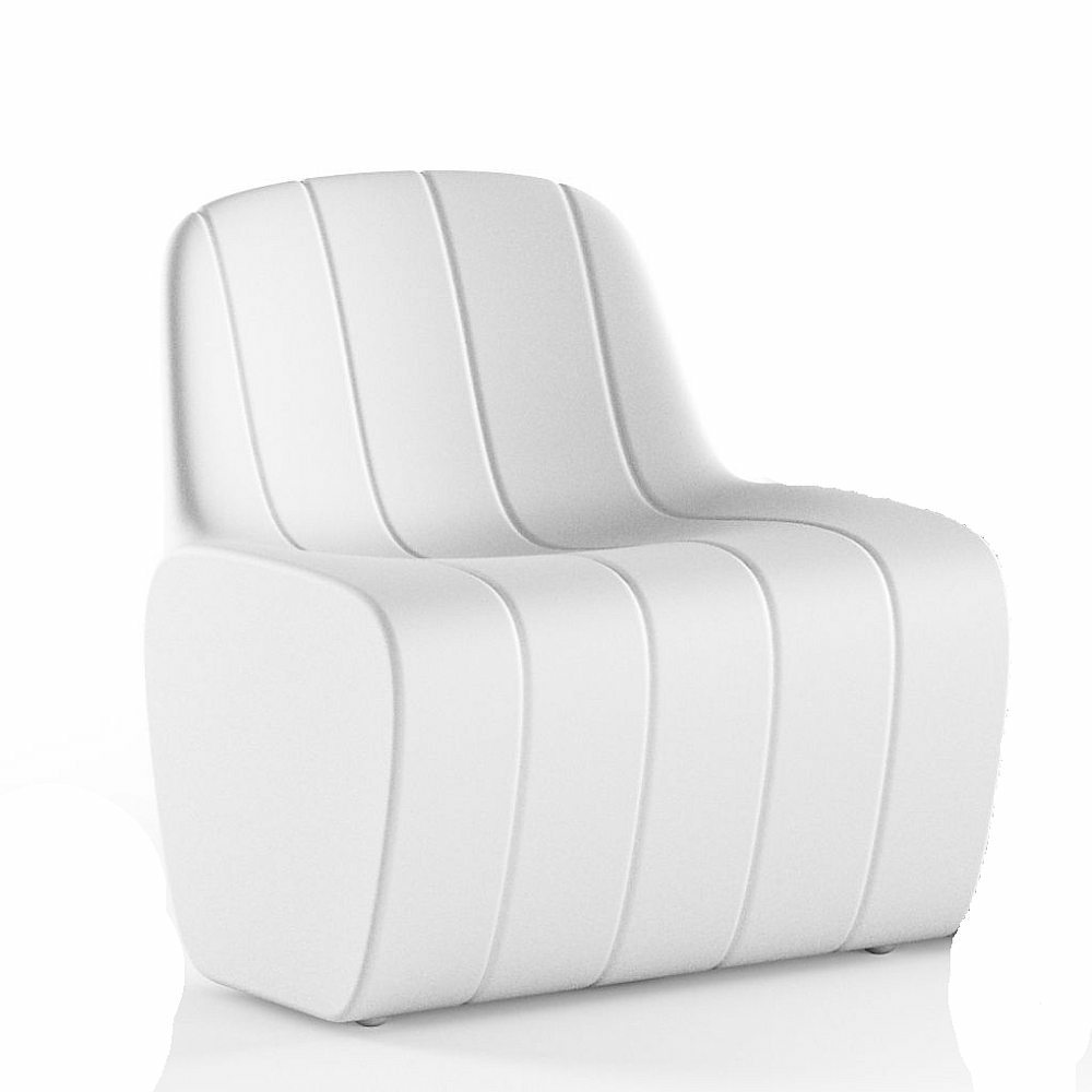 JETLAG Sessel unbeleuchtet weiß