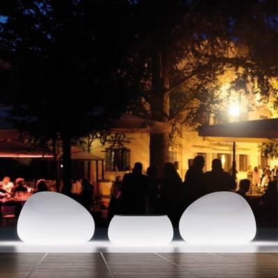 T-BALL Gartentisch beleuchtet