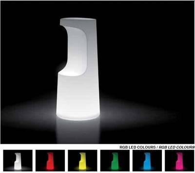 FURA Barhocker beleuchtet, Farbspektrum des Akku RGBW LED Kit