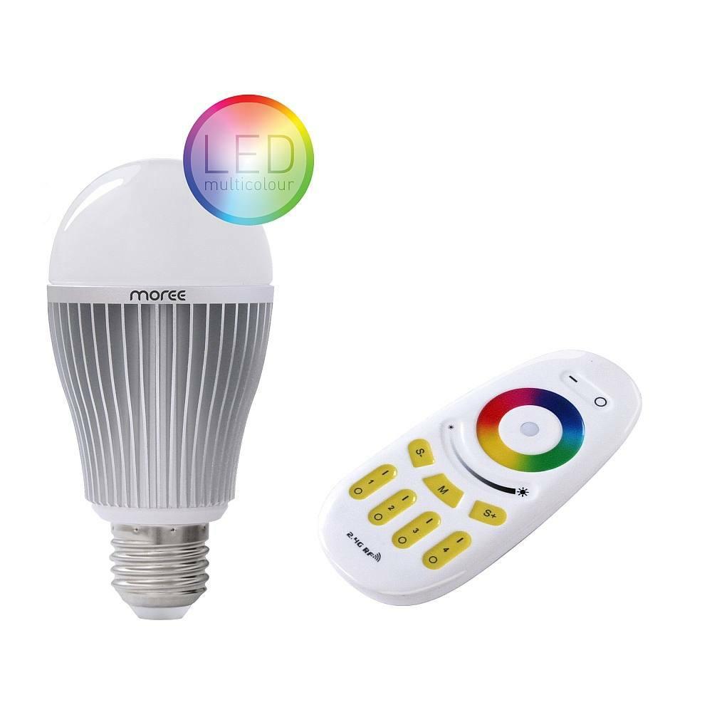 LED Birne und Funk-Fernbedienung
