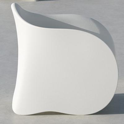 GOEN Sessel weiß matt