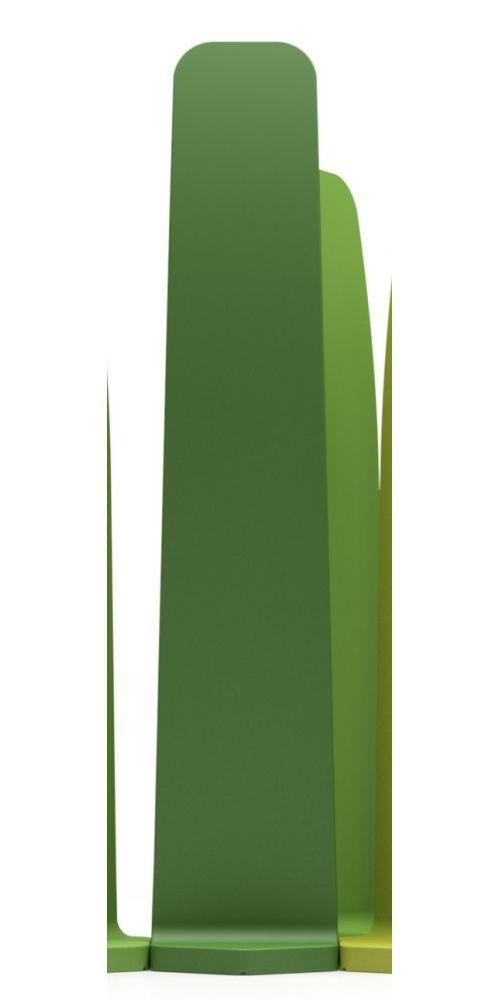 GRADIENT Raumtrenner, 160 cm, Farbe dunkelgrün