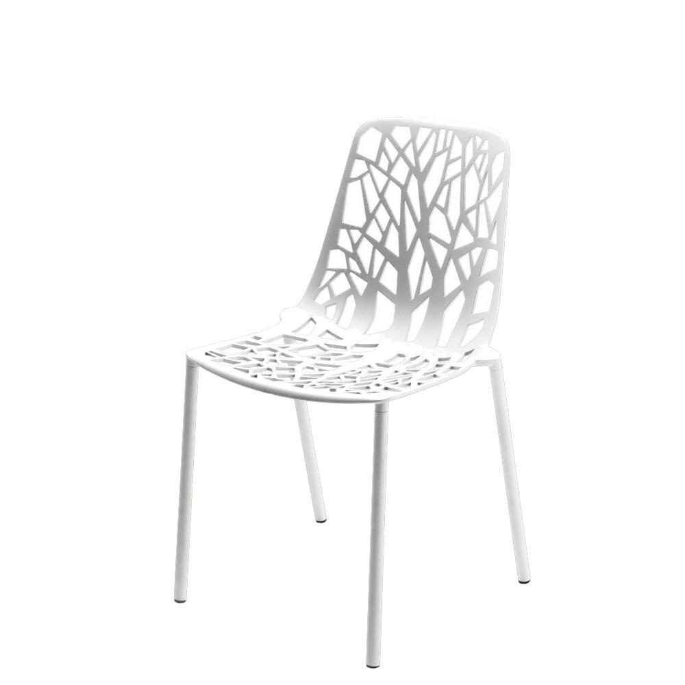 Forest Stuhl Outdoor weiß