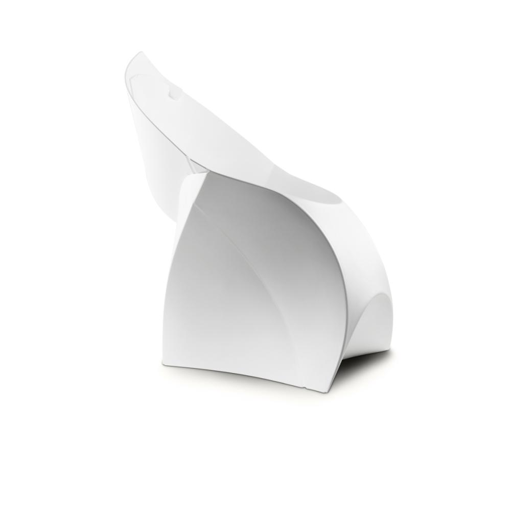 flux CHAIR faltbarer Stuhl reinweiß
