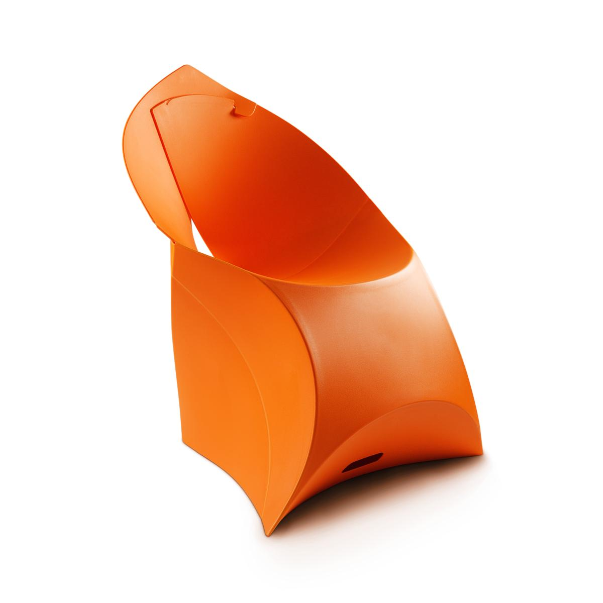 flux CHAIR Stuhl, faltbar, hellorange