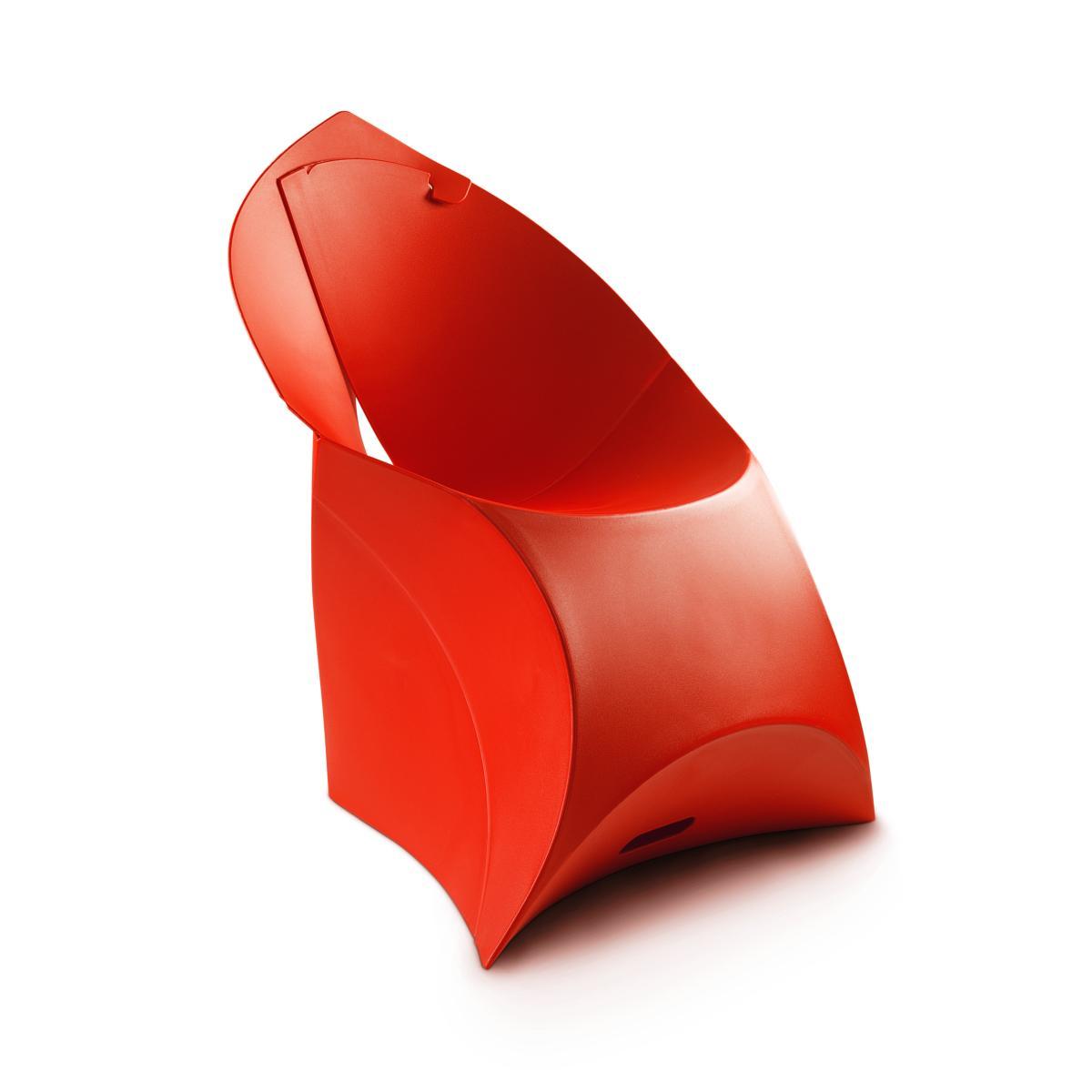 flux CHAIR Stuhl, faltbar, klassisch rot