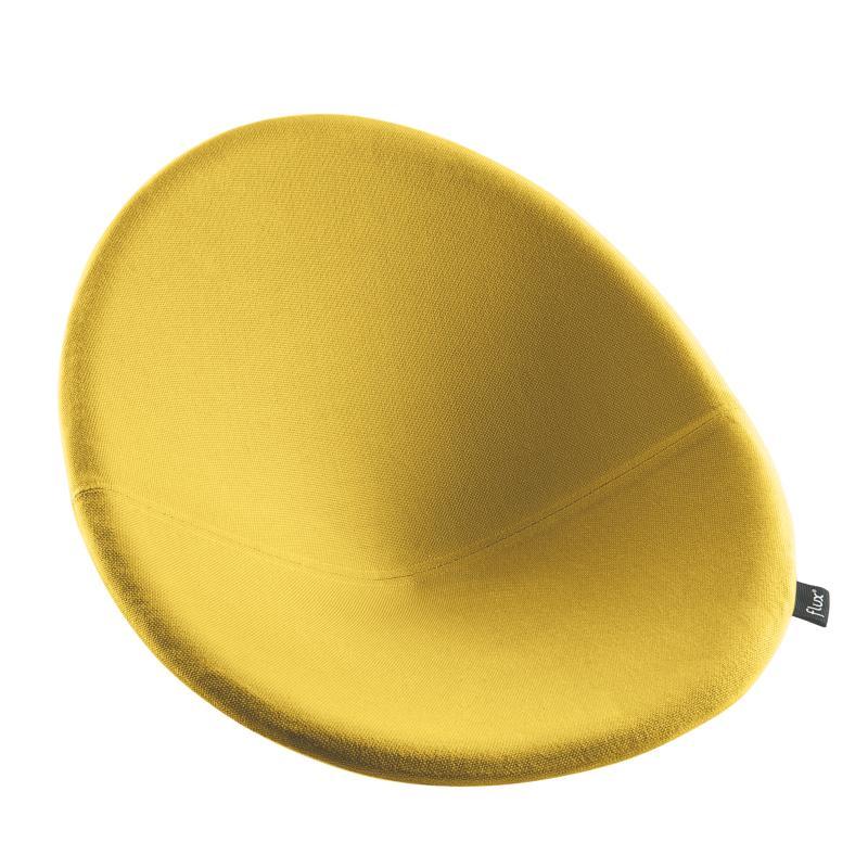 Kissen für flux CHAIR Stuhl limone