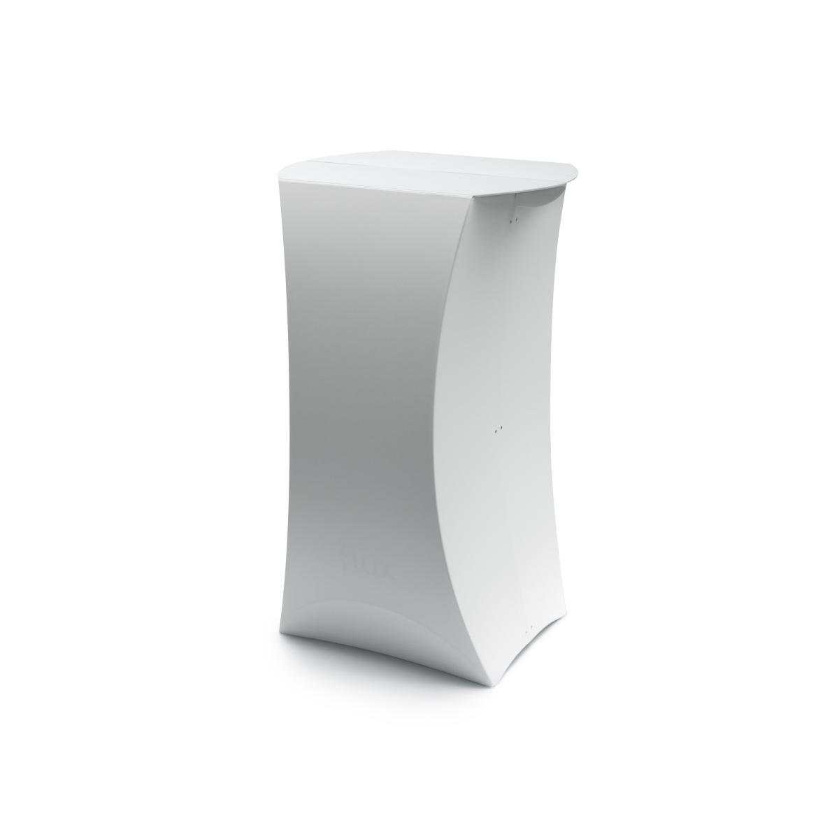 FLUX COLUMN faltbarer Stehtisch weiß