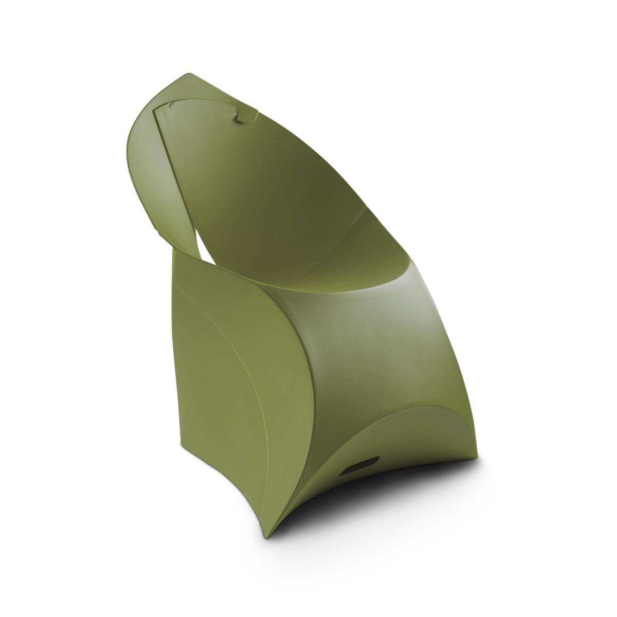 flux JUNIOR Kinderstuhl, faltbar, Camouflage-grün