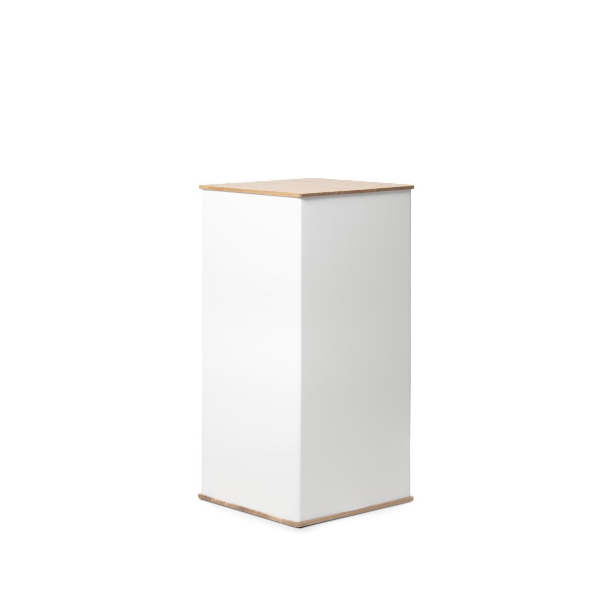 flux BLOX Säule 40 x 80 cm, weiß
