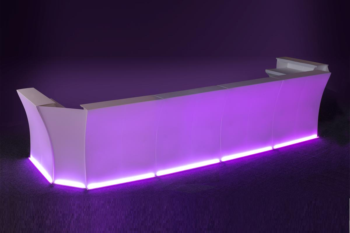 FLUX ARC Bar / Theke mit LED