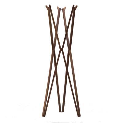SEI Garderobenständer klappbar 170 cm Nussbaum natur