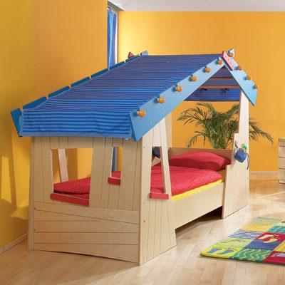 haba kinderbett tom s h tte von haba bei. Black Bedroom Furniture Sets. Home Design Ideas