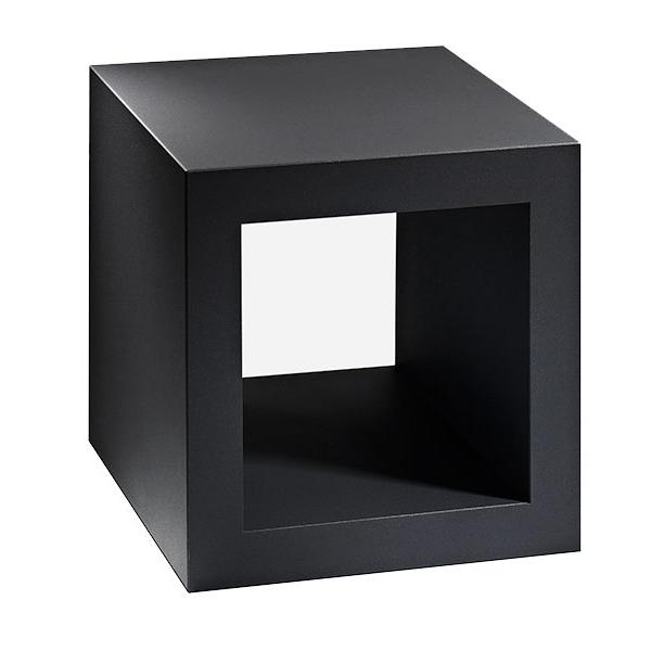 Cube Container stapelbar / mit Rollen, anthrazit