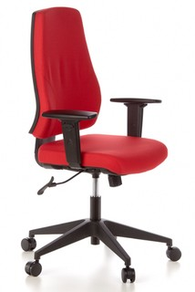 Schreibtischstuhl GECKO Home rot
